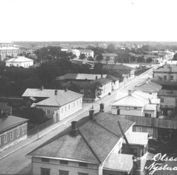 Old picture of Uusikaupunki